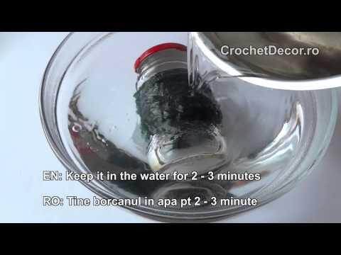 How To Straighten A Yarn (Cum Sa Descretesti Un Fir Folosit)