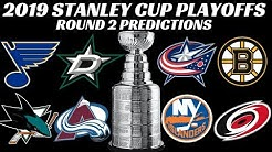 2019 Stanley Cup Playoffs Round 2 Preview + Predictions