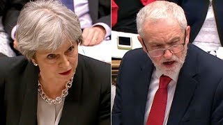 Jeremy Corbyn takes on Theresa May at PMQs - watch live