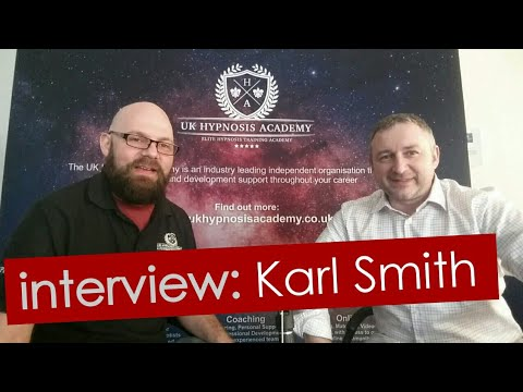 Interview with hypnotist Karl Smith, creator of Kinetic ...