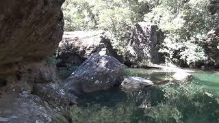 Bundanoon Creek, Tooth's Track to the creek, Spring 2019, NSW, Australia