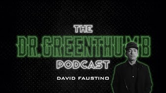 David Faustino Speaks Hollywood Parties, Married With Children + more | The Dr. Greenthumb Podcast