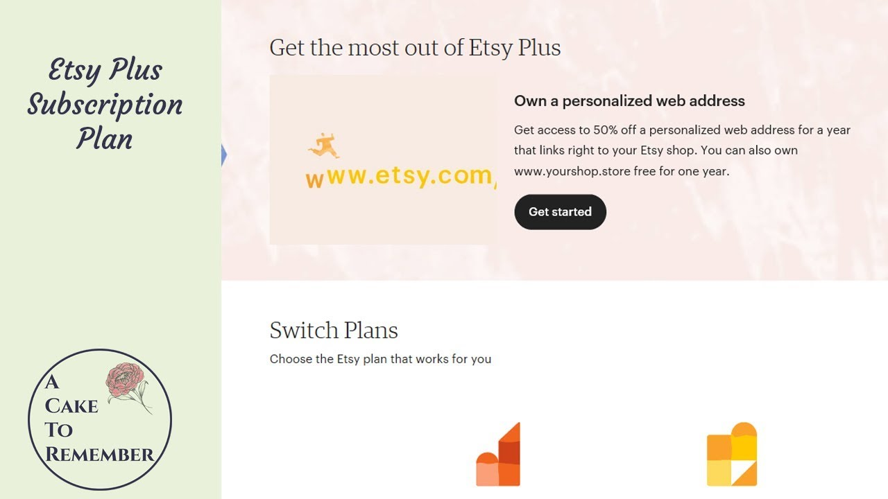 0bf07805c7e8e Etsy plus subscription plan- Maybe worth it, maybe you don't need it.
