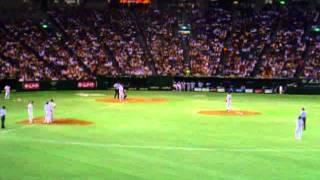 11.7.28 対横浜 高橋由伸応援歌 ライトスタンドにて.