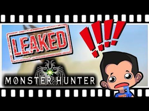 monster hunter movie trailer leak