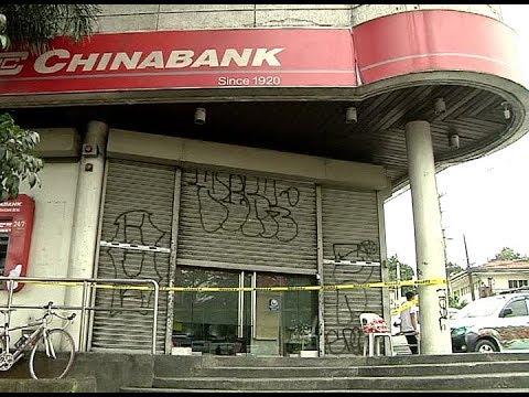 Bangko sa Quezon City, sinalakay ng termite gang