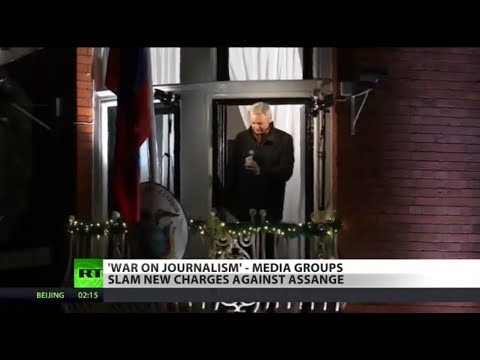 RT America: US declares 'war on journalism,' slaps Assange with 17 new charges