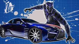 KING T'CHALLA'S LEXUS LC 500 FROM MARVEL'S BLACK PANTHER | West Coast Customs
