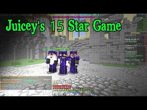 JUICEY'S 15 STAR GAME | Hypixel UHC Highlights S3 Episode #22