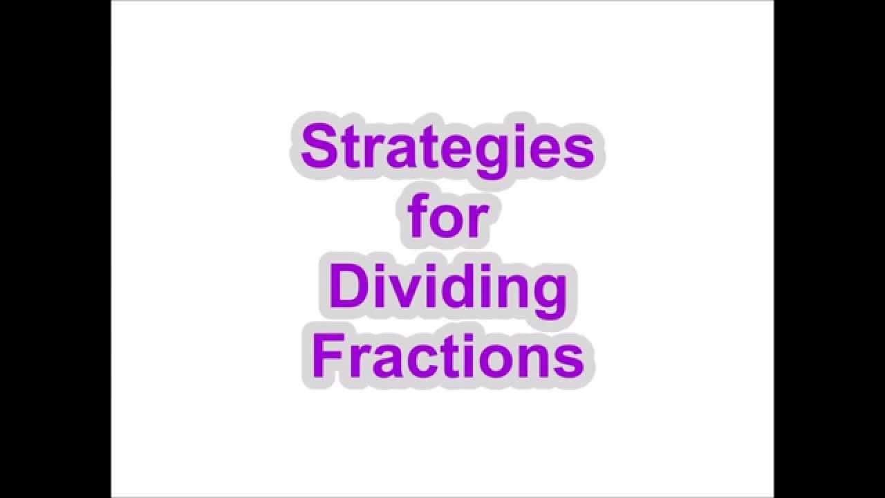 Howto Divide Mixed Fractions With Unlike Denominators