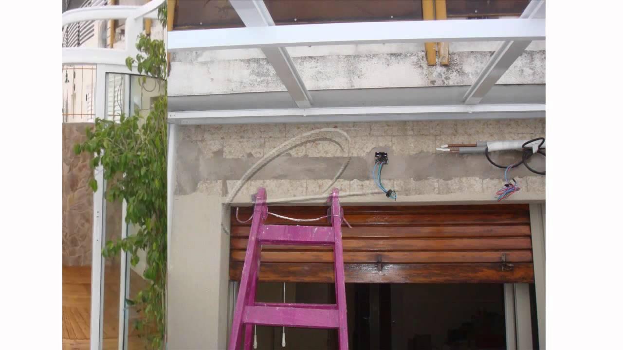 Cerramiento de balc n y techo de aluminio con cristales for Cuanto cuesta un toldo para balcon