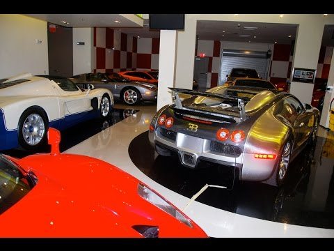 Exotic Cars - Luxury Cars - Diamond Exotic Rentals Miami Warehouse
