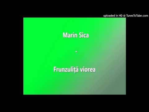 Marin Sica - Frunzuliță Viorea