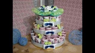 Торт из денег.Подарок для брата на день рождения.