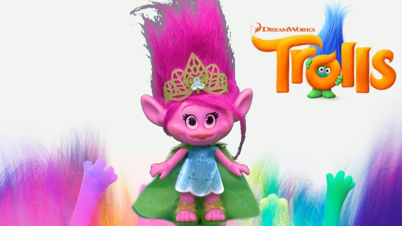 trolls poppy doll from hasbro youtube