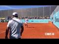 Rafael Nadal & Pablo Cuevas Practice - Madrid Open 2017