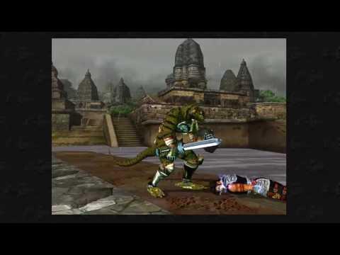 Soul Calibur 1 - Arcade with Lizard Man and Ending