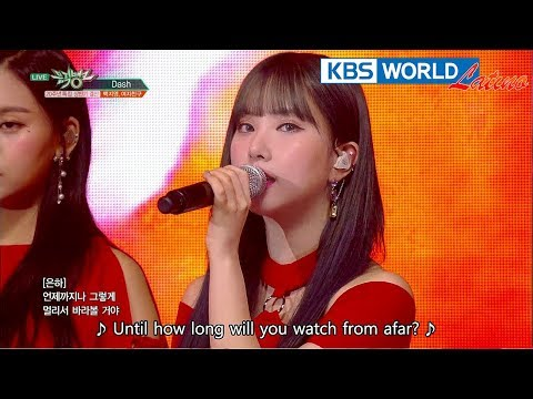 Baek Z Young, GFRIEND (백지영, 여자친구) - DASH [Music Bank Special Stage / 2018.06.29] - 동영상