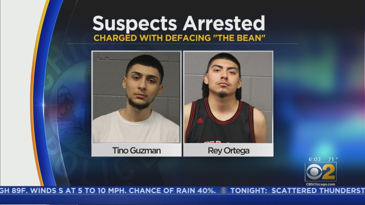 7 Charged In Vandalism Of 'The Bean'