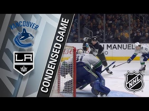 Vancouver Canucks vs Los Angeles Kings – Mar. 12, 2018 | Game Highlights | NHL 2017/18. Обзор