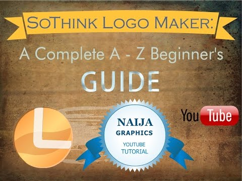 SoThink Logo Maker Pro Tutorial: A Complete A To Z Beginners Guide