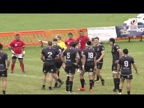 New Zealand Defence Force vs Tonga Defence Service IDRC QF Highlights 19-10-15