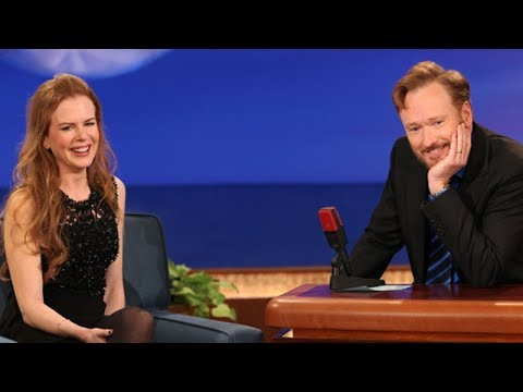 Nicole Kidman Interview Part 01 - Conan on TBS