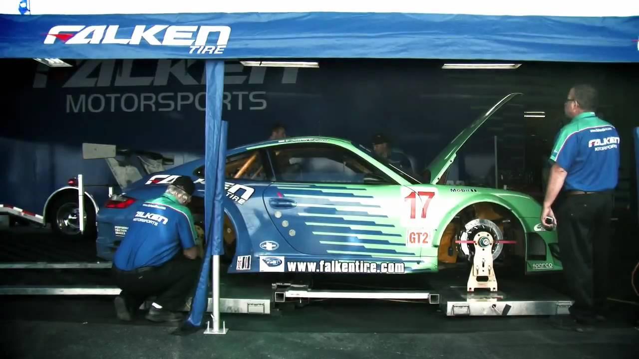 Team Falken Tire Takes 8th Place At 2009 ALMS Finale Laguna Seca