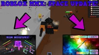 LOOKING AT THE SPACE UPDATE IN ROBLOX MURDER MYSTERY X... (ROBLOX MMX GAMEPLAY)