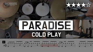 056 Paradise Cold Play Drum Only Pop Drum Cover