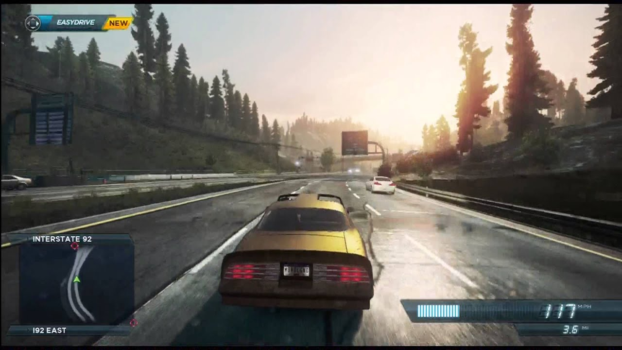 Need For Speed Most Wanted 2012 Pontiac Trans Am Firebird Gameplay Youtube