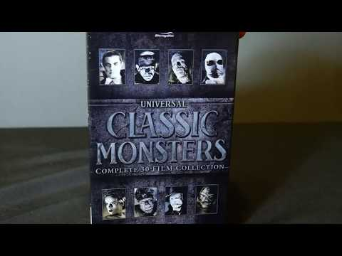 Universal Monsters 30-Film Blu-ray Boxed Set Unboxing