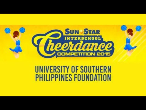 Sun.Star Cheerdance Competition 2015: University of Southern Philippines Foundation