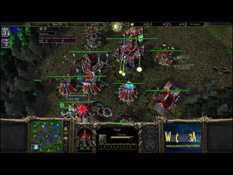 120(UD) vs Sok(HU) - WarCraft 3 Frozen Throne - RN3478
