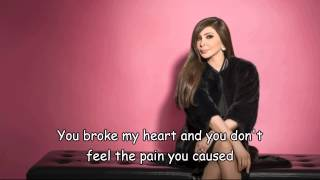 Elissa-You Broke My Heart 2014 / Arabic Song (English Subtitles) -اليسا-وجعت قلبي