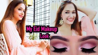 My Eid Makeup Look😋Very Simple ND Easy Makeup Look✨Mannya's Eid makeuplook