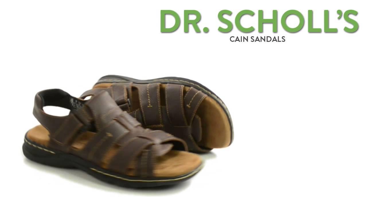 38dec9066ef3 Dr. Scholl s Cain Sandals (For Men) - YouTube
