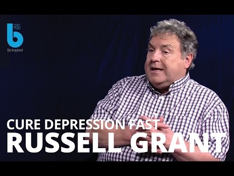 Cure Depression Fast -- How  Russell Grant Beat Depression Naturally