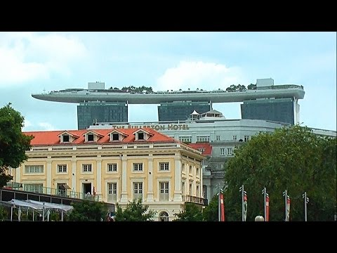 Travel to Singapore 2017 Hotel Marina Bay Pool - 1
