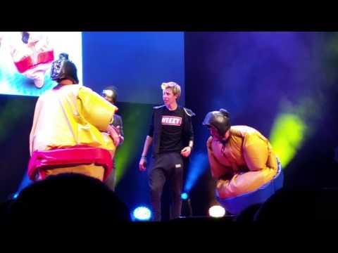 KSI Live tour - Snitch & Sumo wrestling