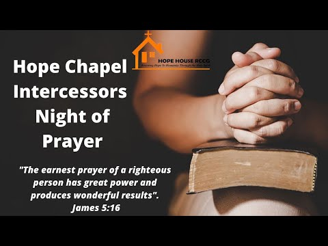 22.01.2021 - INTERCESSORS NIGHT OF PRAYER