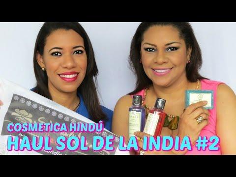 COSMETICA HINDU - HAUL SOL DE LA INDIA #2 - PRODUCTOS KHADI