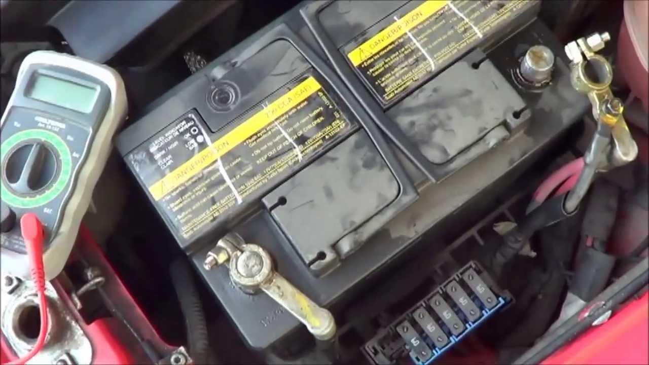 Urladdat batteri SAAB 9 5 - YouTube