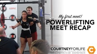 Recap: My First Powerlifting Meet