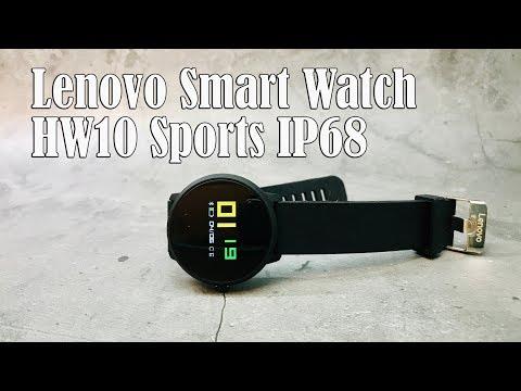 10 фактов об умных часах Lenovo Smart Watch HW10 IP68 внутри