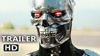 TERMINATOR 6 Car Chase Scene (2019) Dark Fate Movie HD