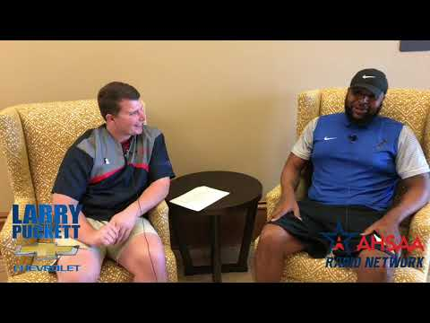 Anthony Jones from Notasulga High School sits down with the AHSAA Radio Network