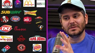 Fast Food Power Rankings (Response to iDubbbz)