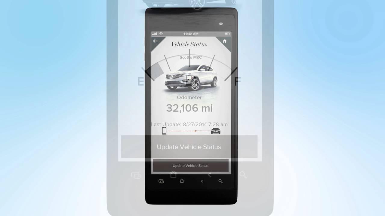 My Lincoln Mobile App >> My Lincoln Mobile App