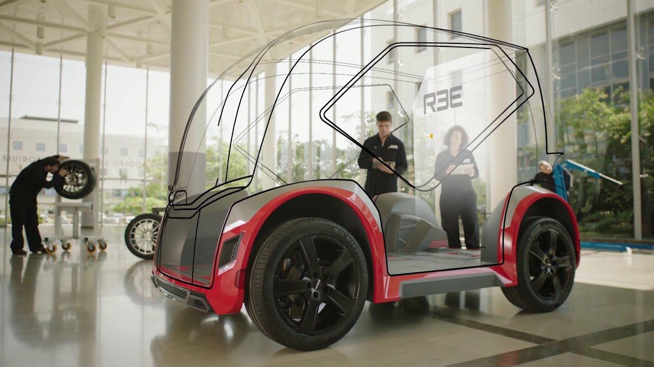 israeli start-up REE automotive reveals ultra-flexible modular
